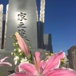 鶴ヶ島市の満福寺墓地にて、新潟県産の千草石の和型墓石の建立をいたしました