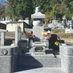 比企郡滑川町の成安寺墓地にて五輪塔をおつくりしました