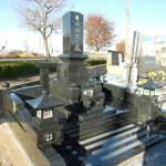 深谷市の共同墓地にて和型墓石の建立をいたしました