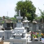 深谷市永田の共同墓地にて古式宝篋印塔をおつくりいたしました