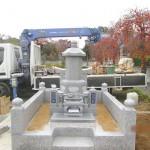 群馬県前橋市のふじみ桂葉霊園にて累宝塔をおつくりしました