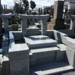 鶴ヶ島市の墓地で外柵工事が完成しました。