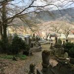 秩父郡長瀞町の共同墓地にて、墓誌に戒名の追加彫刻を行いました。