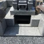 鶴ヶ島市太田ヶ谷の墓地に納骨にいきました。