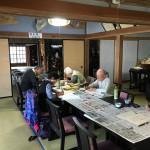 滑川町福田の成安寺様で写経会を行いました。