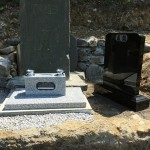 児玉郡美里町に墓誌を建てに行きました。
