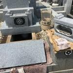 鶴ヶ島市太田ヶ谷満福寺様にて納骨及び墓石の点検をしてきました。