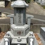 比企郡滑川町で累宝塔の点検と戒名彫刻の石すりと比企郡小川町にて戒名彫刻の石すりをしてきました。
