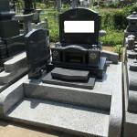 大里郡寄居町不動寺様で、お施主様自ら部材を選んだオンリーワンのお墓が完成しました。