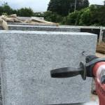 大里郡寄居町の会社にて、外柵の積込作業を行いました。