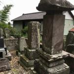 寄居町末野にて墓じまいしないような方法で検討するための調査にきました。