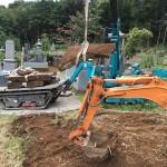 比企郡滑川町成安寺様にて墓じまいの工事が完了しました。