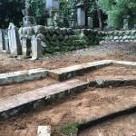 比企郡滑川町成安寺様で土留め工事完成しました。
