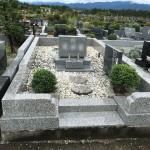 秩父整地公園に墓地リフォーム後の点検調査にいきました。