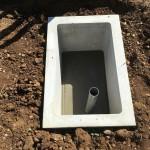 秩父聖地公園墓地にてカロートの設置工事をしました。