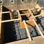 比企郡滑川町成安寺様で基礎工事をしました。