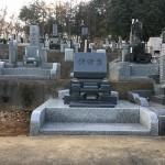 比企郡滑川町成安寺様に墓地が完成しました。