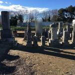深谷市に墓地に墓じまいの調査にきました。