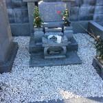 比企郡小川町の墓地に墓石建立の調査に行きました。