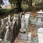 秩父郡皆野町の墓地に墓じまいの見積もりの為調査にきました。