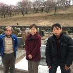秩父聖地公園で納骨が終了、別件での墓地工事打ち合わせをしてきました。