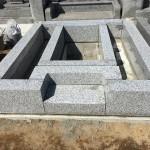 群馬県前橋市の長桂寺様で外柵の据付工事をしました。