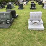 秩父聖地公園にて墓石移転のための解体工事が終了しました。