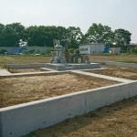深谷市で墓地まわりのコンクリート工事が完了しました。