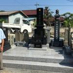 比企郡小川町にてお墓の建立をいたしました。