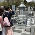 前橋市にてお墓の建立をいたしました。