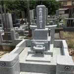 鶴ヶ島市にて、お墓の建立をいたしました。
