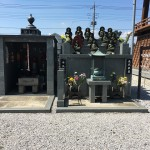 鶴ヶ島市の満福寺様に永代供養墓と家族墓が完成しました。