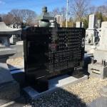 大里郡寄居町にて墓誌の交換を行いました。