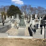 大里郡寄居町の墓地の五輪塔と夫婦墓の点検に行きました。