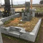 群馬県伊勢崎市のお寺様にお墓の調査に行ってきました。