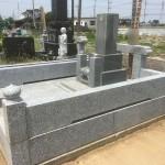 群馬県伊勢崎市で墓地改修工事が終了しました。