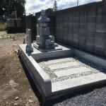 深谷市にて五輪塔のお墓工事が完成いたしました。