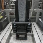 鶴ヶ島市にてプレミアムデザインのお墓が完成しました。