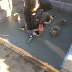 鶴ヶ島市満福寺様にて墓地リホーム工事を開始しました。