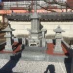 本庄市小和瀬で累宝塔の戒名彫刻の事前調査を行いました。