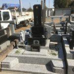 鶴ヶ島市にてお墓のリホーム工事が完成しました。
