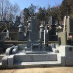 滑川町成安寺様にて新規墓地工事が完成しました。