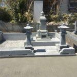 本小松石のこたたき仕上げの古式五輪塔が完成しました。