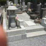 大里郡寄居町にて墓地改修工事が終了しました。
