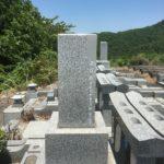 皆野町の長瀞清華霊園にて戒名彫刻が終了しました。