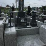 大里郡寄居町不動寺様で新たに石塔が完成しました。