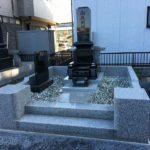 阿弥陀仏を迎えた石塔が大里郡寄居町の共同墓地に完成しました。