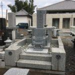 鶴ヶ島市に阿弥陀様を祀る国内産磐梯御影石の石塔が完成しました。