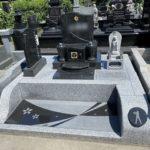 大里郡寄居町に素敵なデザインのお墓ができました。