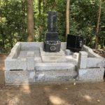 秩父郡皆野町でお墓の改修工事が完了しました